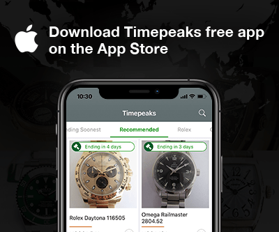 Download free Timepeaks iOS app