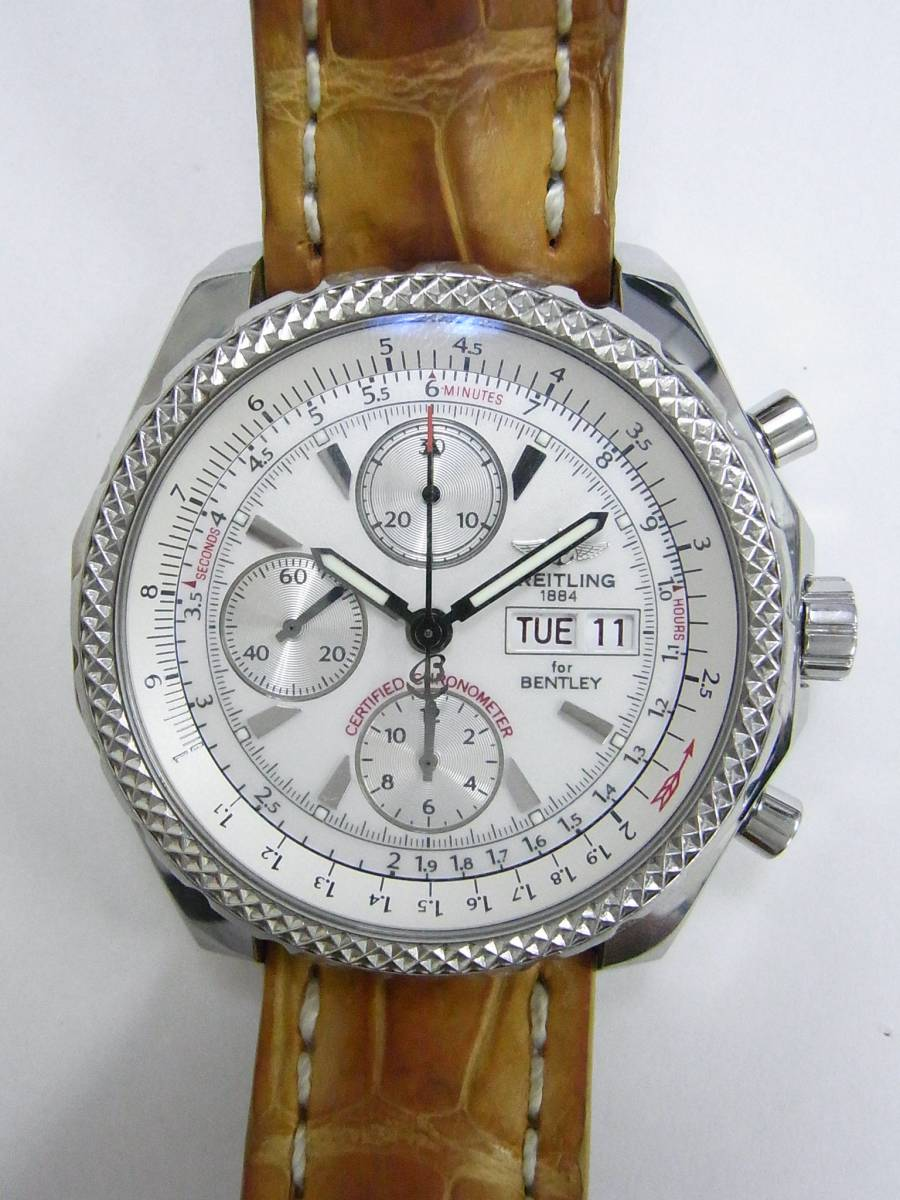 pre owned breitling bentley a13362 watch 1 859 for sale timepeaks. Black Bedroom Furniture Sets. Home Design Ideas