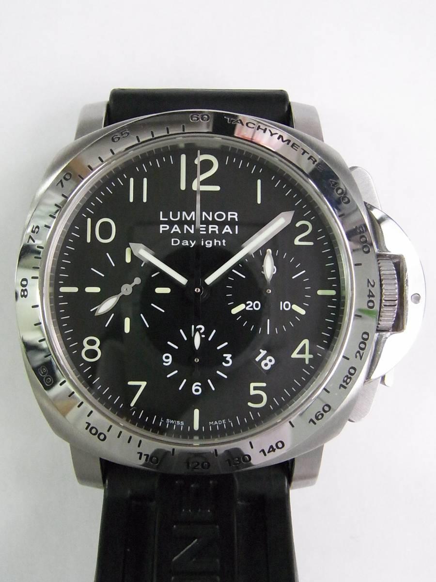 watch 5c5c5 ba1c0 中古のパネライ ルミノールクロノデイライト PAM00196 を販売 ...