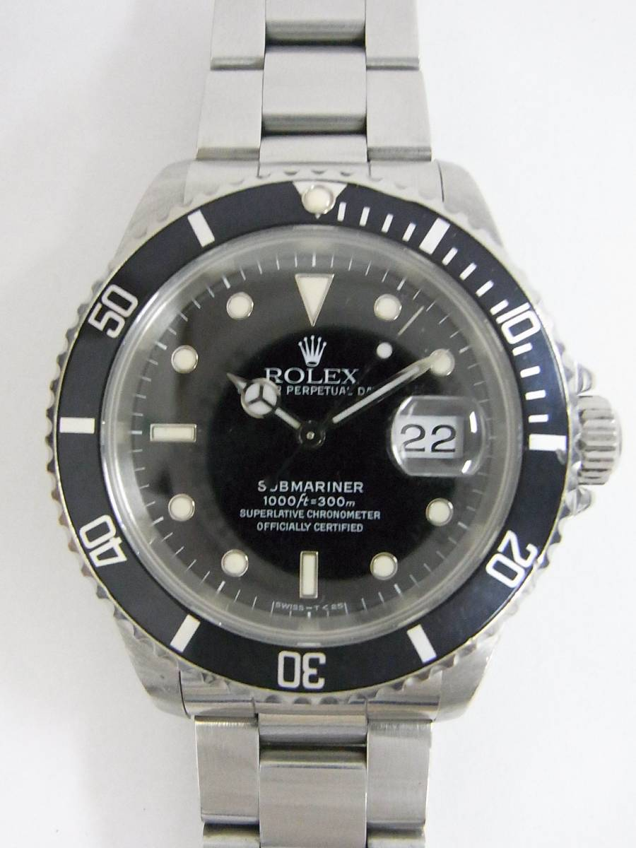 gebrauchte rolex submariner 16610 uhren zum verkauf. Black Bedroom Furniture Sets. Home Design Ideas