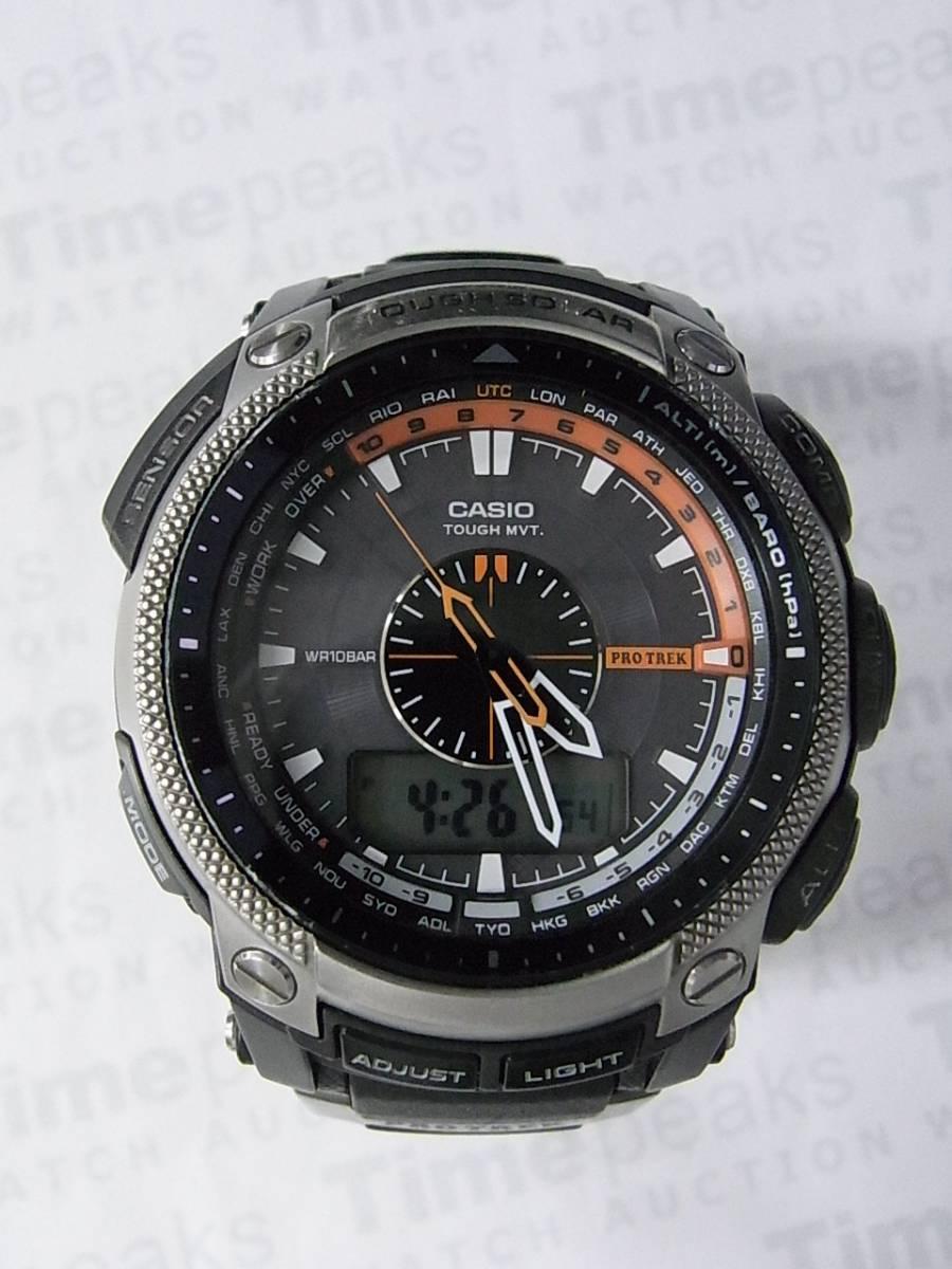 493139afc608 Relojes Casio PRO TREK PRW-5000-1JF de segunda mano (€75) - Timepeaks