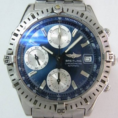 Pre Owned Breitling Chronomat A13352 Watch 694 For Sale