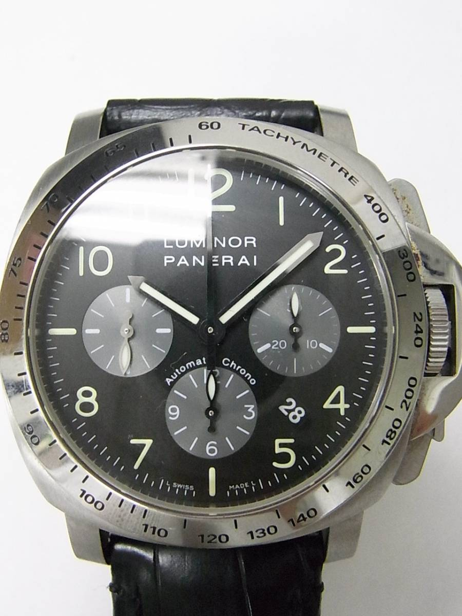 87a5d44512b Panerai luminor chrono PAM00162 relógio usados (€2