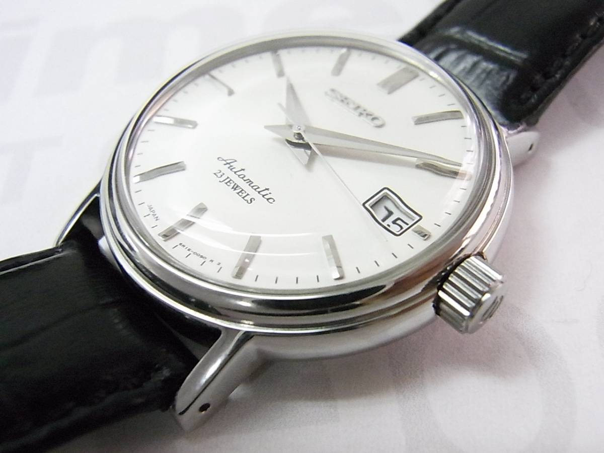 finest selection d1738 672af Pre-owned Seiko mechanical SARB031 watch (S$63) for sale ...