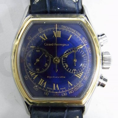 0d4ace67821 Girard Perregaux richeville 27100.0.55.4434 relógio usados (€366) -  Timepeaks