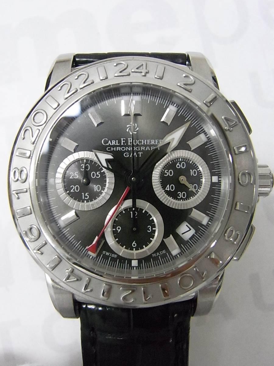 4dd5f9cba5c Carl F.Bucherer patravi GMT 166-024-2 relógio usados (€703) - Timepeaks