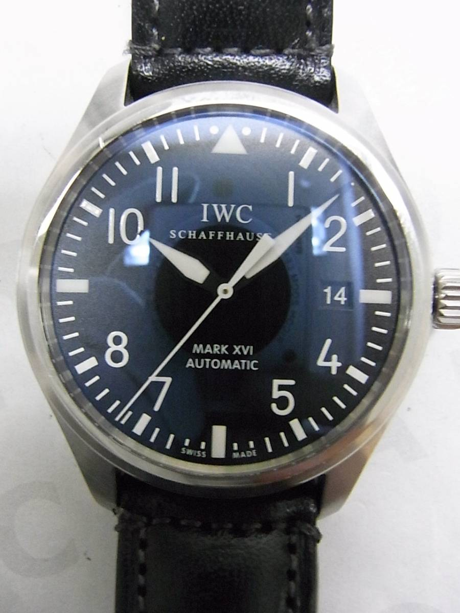 de93e7b49235 IWC pilot watch Mark.16 IW325501 (Pre-owned watch) 13308