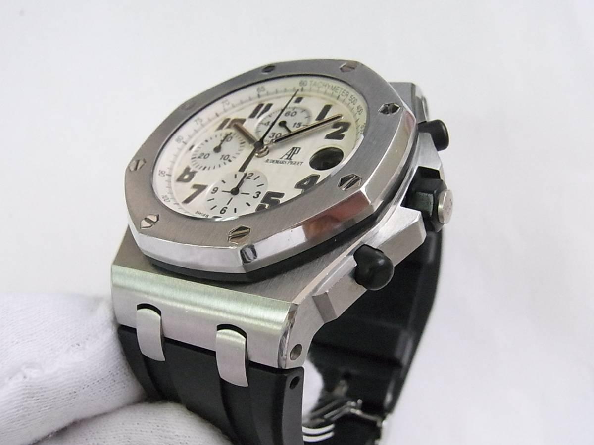 Digunakan Audemars Piguet Royal Oak Offshore 26170stood091cr01 Jam Tangan Safari Steel 42mm 7