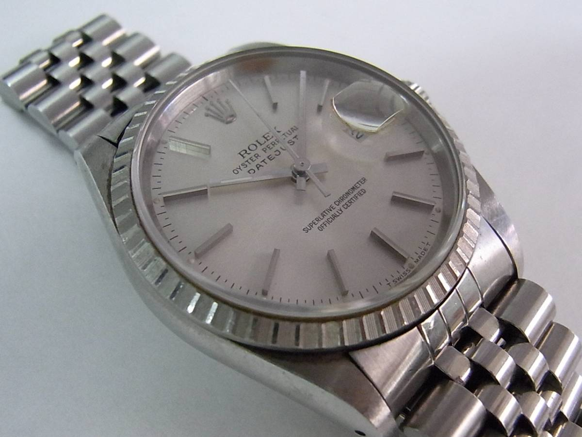 montres rolex datejust 16220 d 39 occasion 376 timepeaks. Black Bedroom Furniture Sets. Home Design Ideas