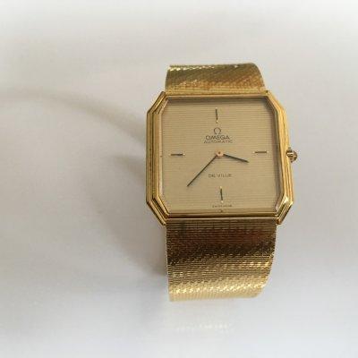 Omega Deville 1974 Solid Gold 18K case and bracelet Ref.BC 751.8358 E