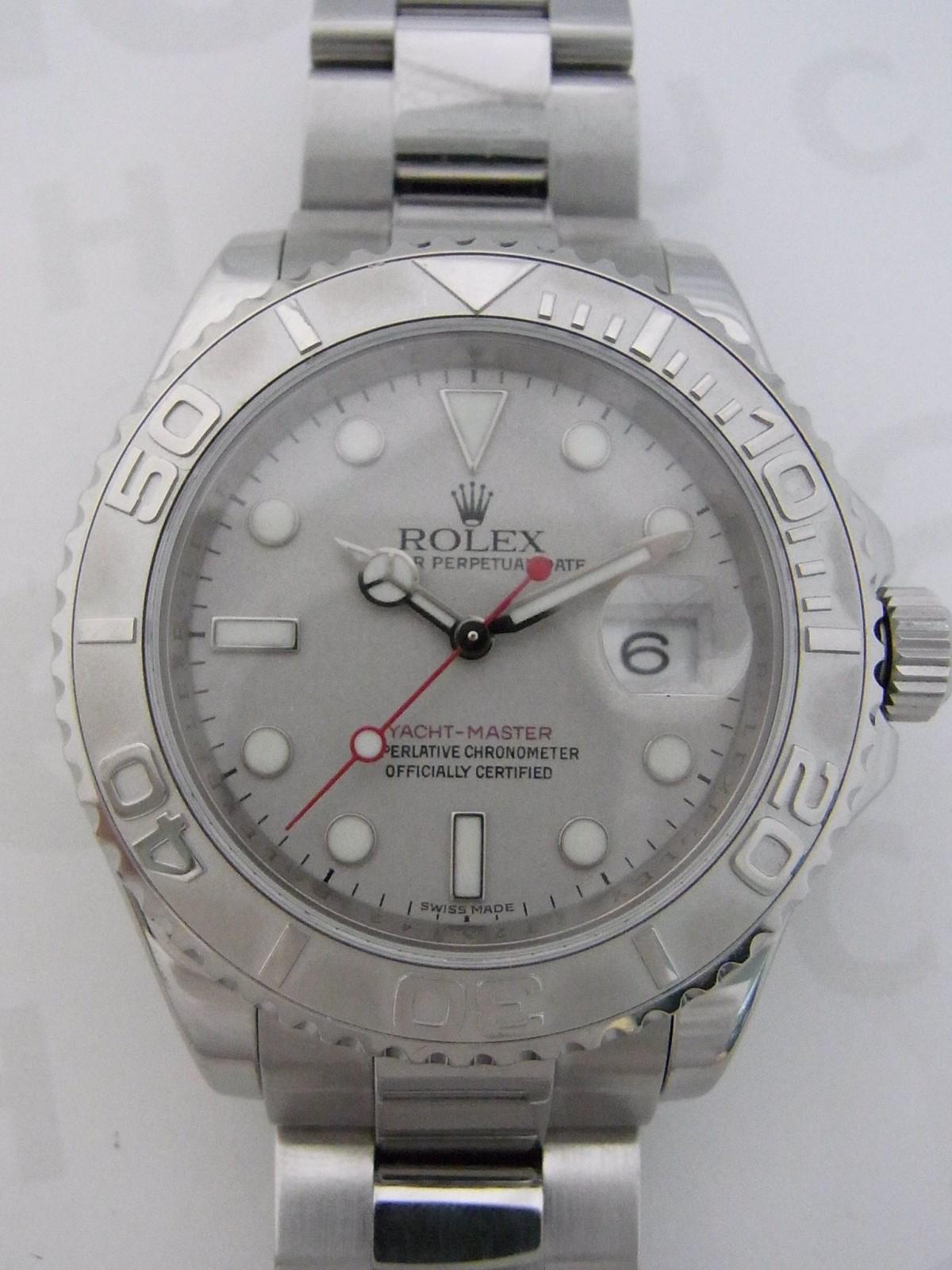 0a43126319f Rolex yacht master roresium 16622 relógio usados (€4