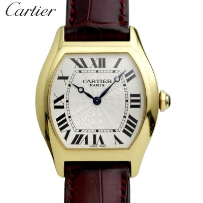 Cartier CARTIER 18K Yellow Gold Tortue Manual (C.P.C.P.) Ref.W1531851