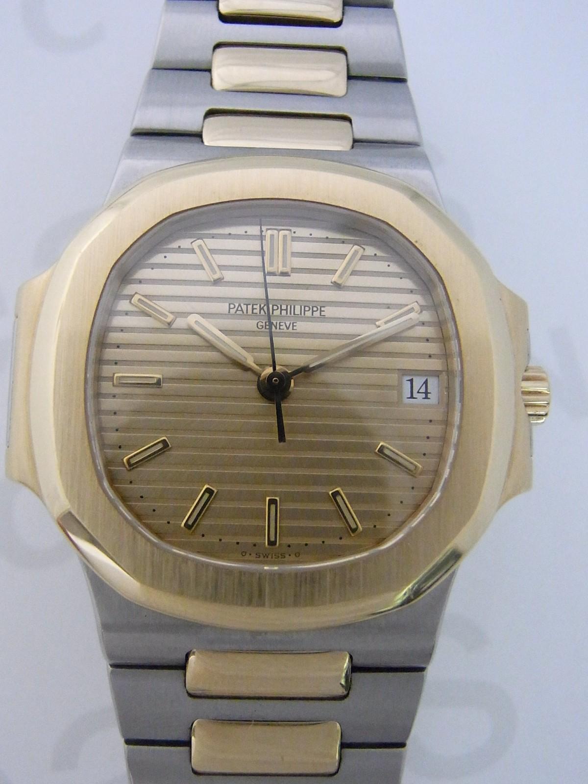 Gebrauchte Patek Philippe Nautilus Gold Uhren zum Verkauf