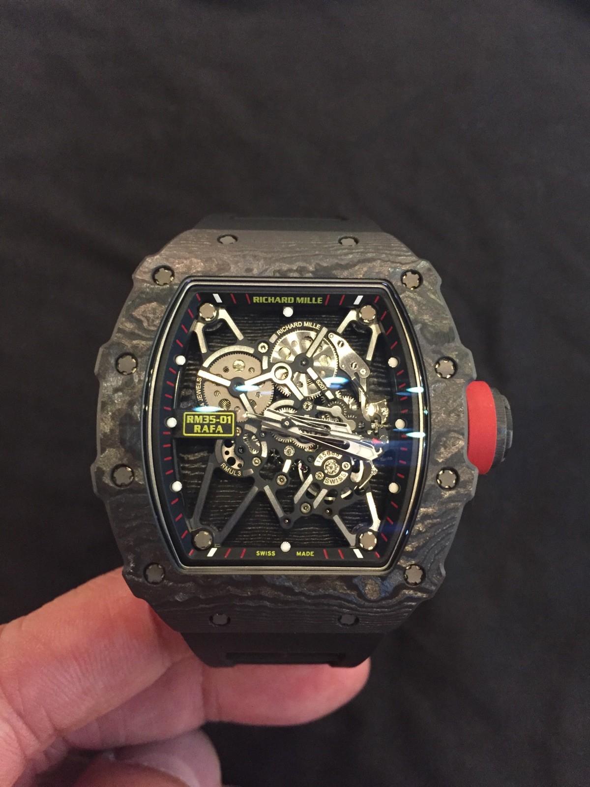 Nowe Nieuzywane Richard Mille Rm35 01 Nadal Rm35 01 Zegarki Na Sprzedaz Timepeaks
