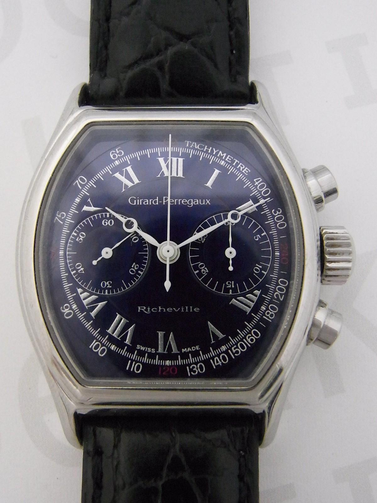 c69bf89e8eb Girard Perregaux richeville 2710 relógio usados (€419) - Timepeaks