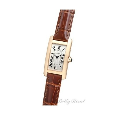 Cartier Tank american [new] watch Ladies Ref.W2607456