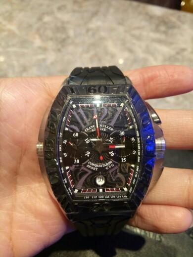 aeb01a16ba5 Novo  Não usado  Relógios Franck Muller conquistador ...