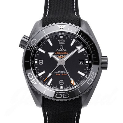 Omega Seamaster 600 Planet ocean GMT Co-Axial  Chronometer deep black 215.92.46.22.01.001 [new] watch