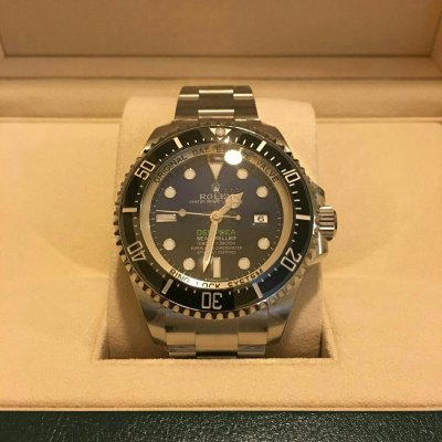 Rolex sea dweller Ref.116660 D-blue T3F0****