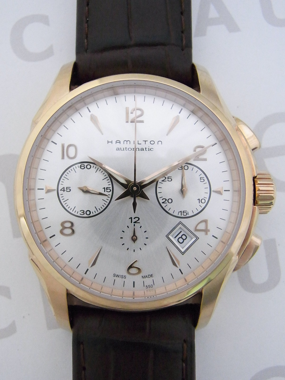 2be4c7e29ce Hamilton jazz master auto chrono H32646555 relógio usados (€131 ...