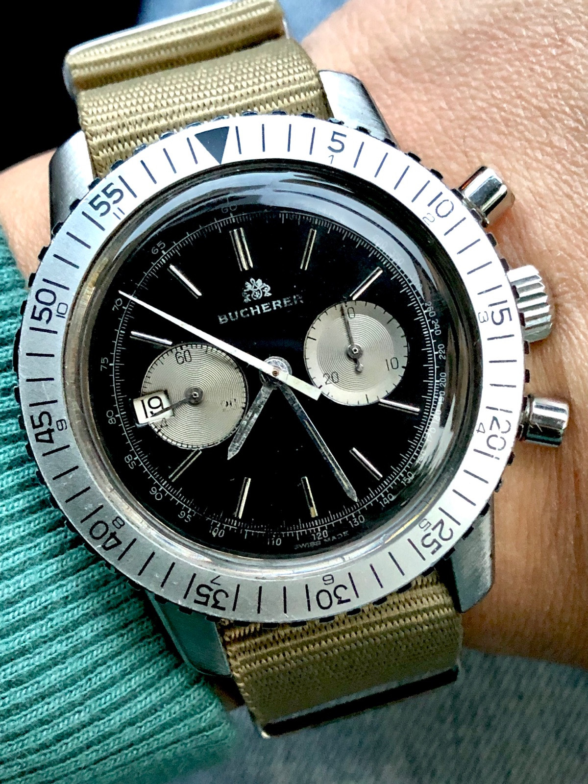 ec2b8ea5737 Carl F.Bucherer (LEMANIA 3872 Movement) relógio usados (€2