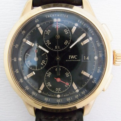 """IWC Ingenieur Chronograph Edition """"74th Members' Meeting at Goodwood"""" Ref.IW380703"""