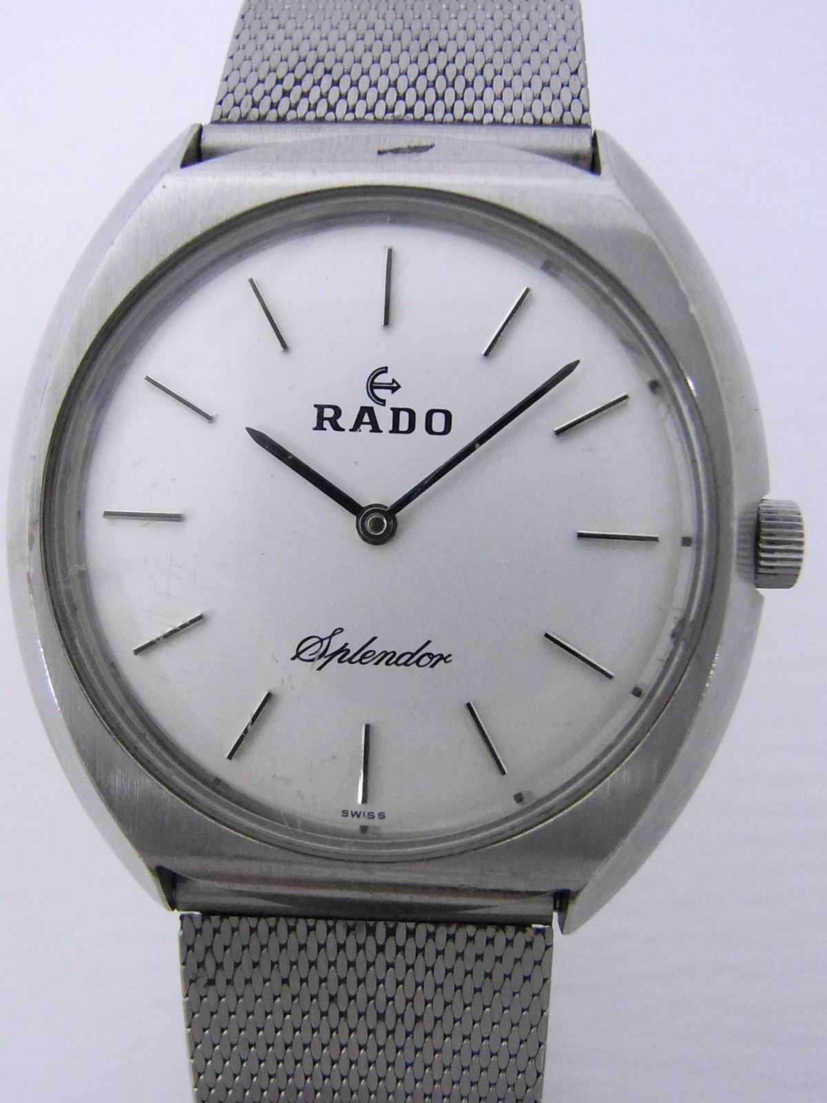 7166ed042a6 Rado Splendor relógio usados (€5) - Timepeaks