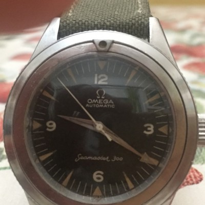 Omega seamaster 300 automatic PATENT PENDING Ref.14755 - 61 CK