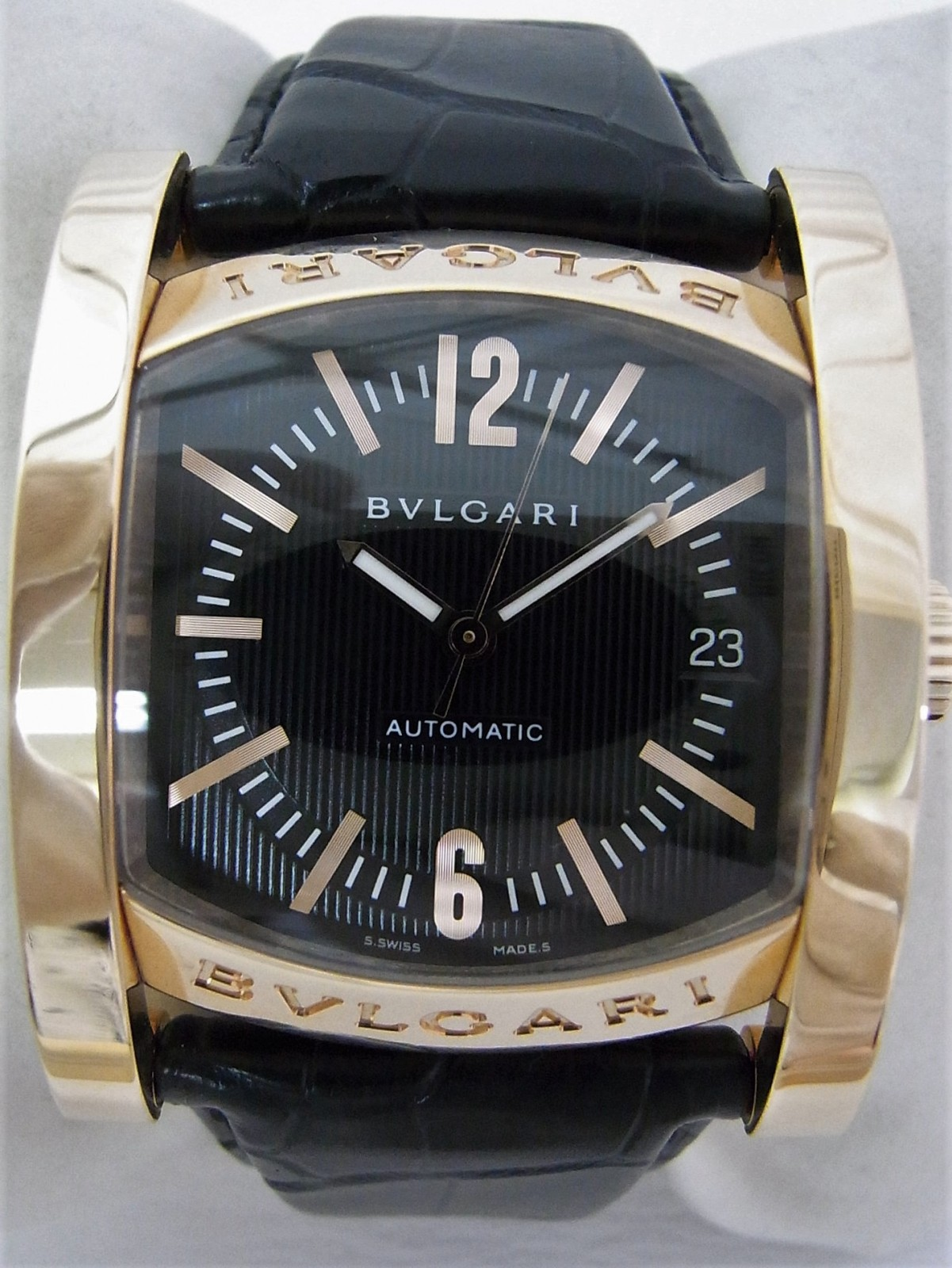 185566ee7e0 Pre-owned Bvlgari assioma AAP44G watch (SFr1