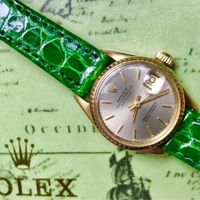 Rolex datejust Ref.6517 18K Yellow Gold Rolex ****