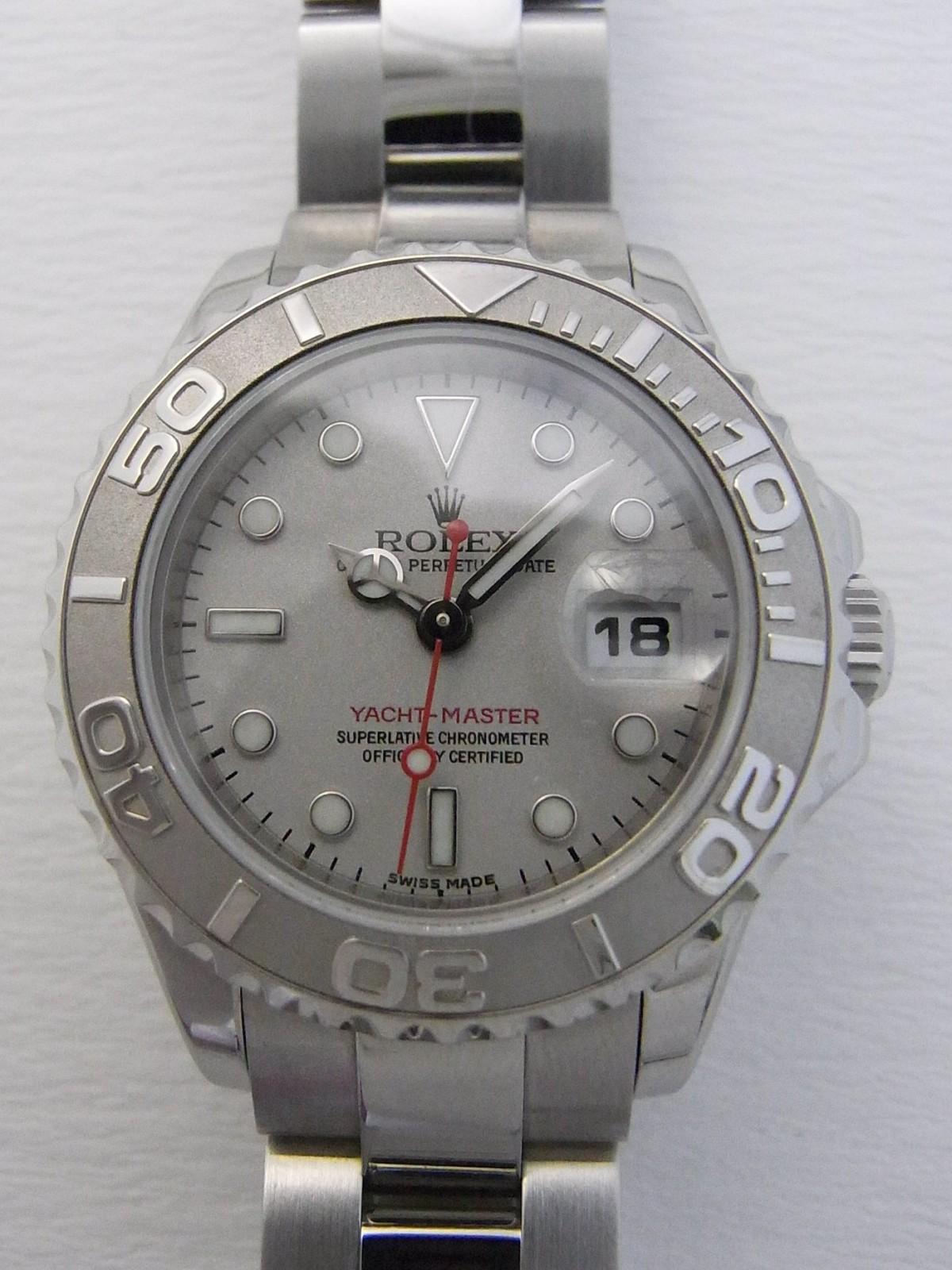 a5457b73989 Rolex yacht master senhoras 169622 relógio usados (€1