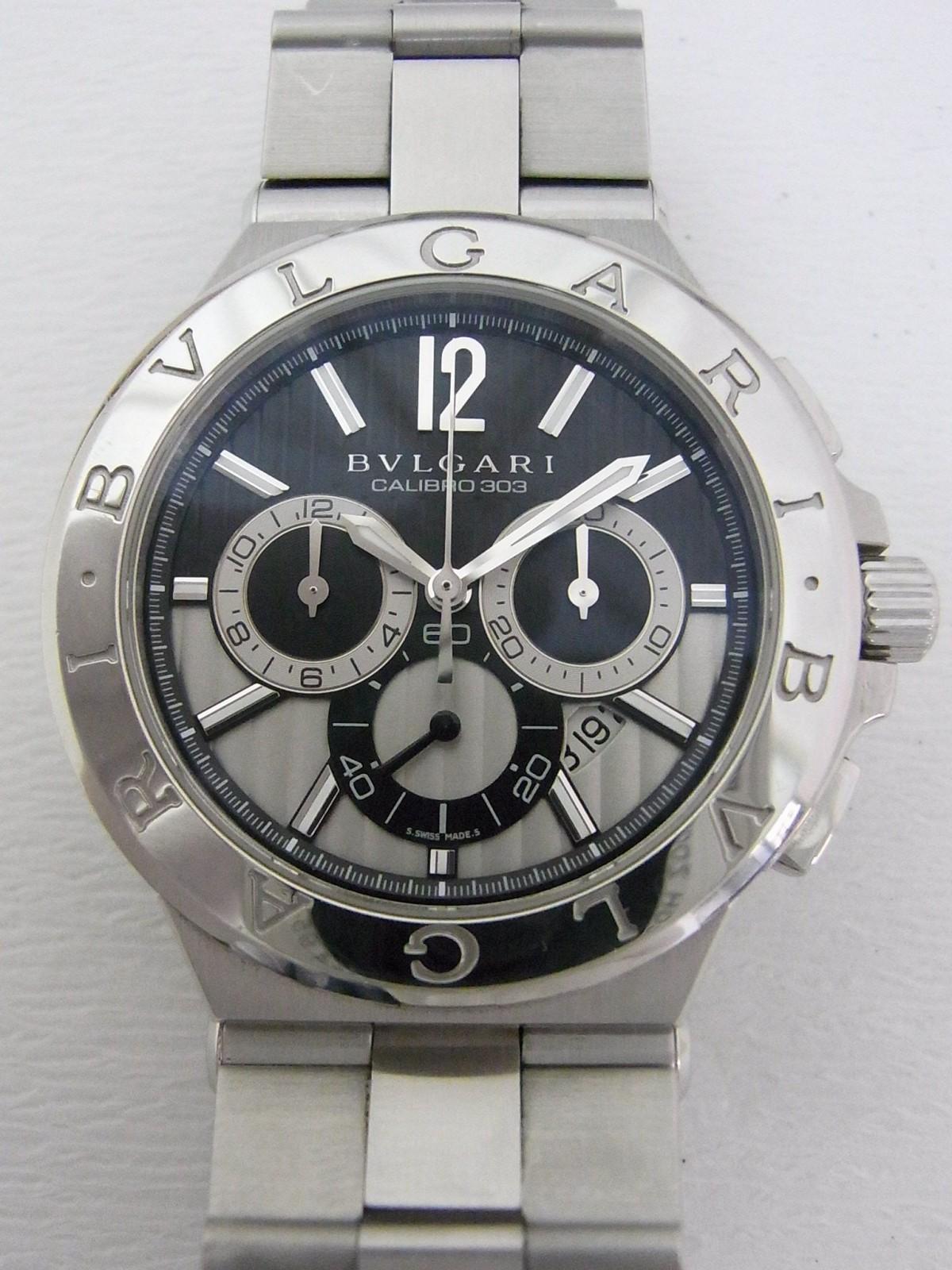 f236d2c6439 Bvlgari diagono calibro 303 DG42SCH (Pre-owned watch) 15807