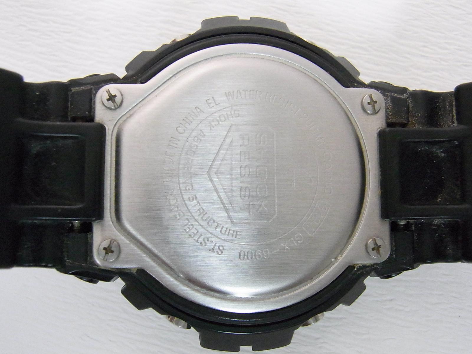 Digunakan Casio G Shock Glx 6900 Menonton Dijual 5 Timepeaks 1 Hitam 13
