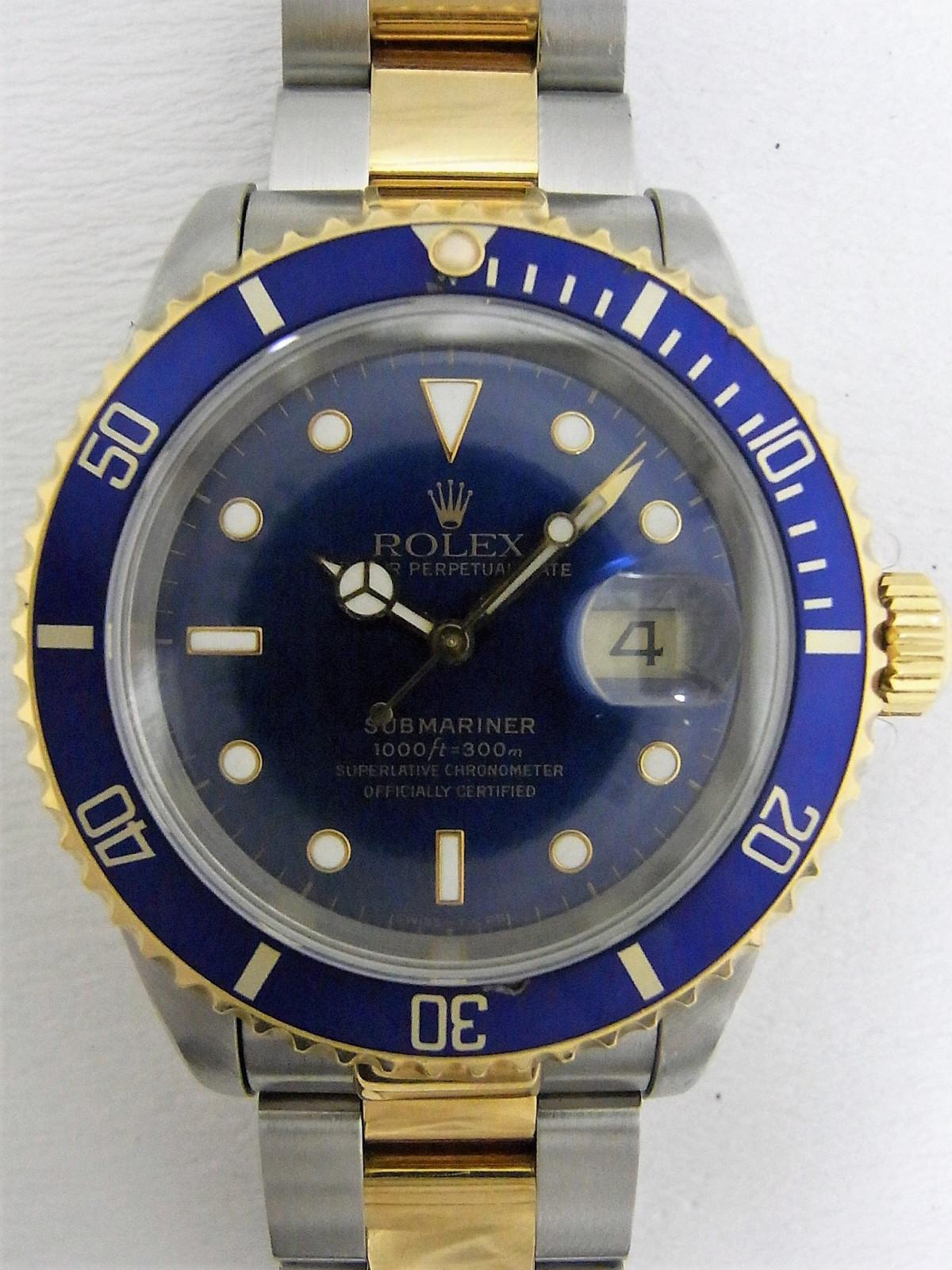 5c62e495551 Relojes Rolex Submariner 16613 de segunda mano (€3