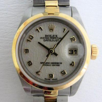Rolex Datejust LADIES Ivory Color Dial Ref.69163