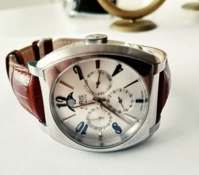 pre owned oris frank sinatra complication watch 980 for sale