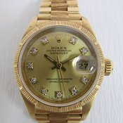 Rolex datejust bark Ref.69278G 984****