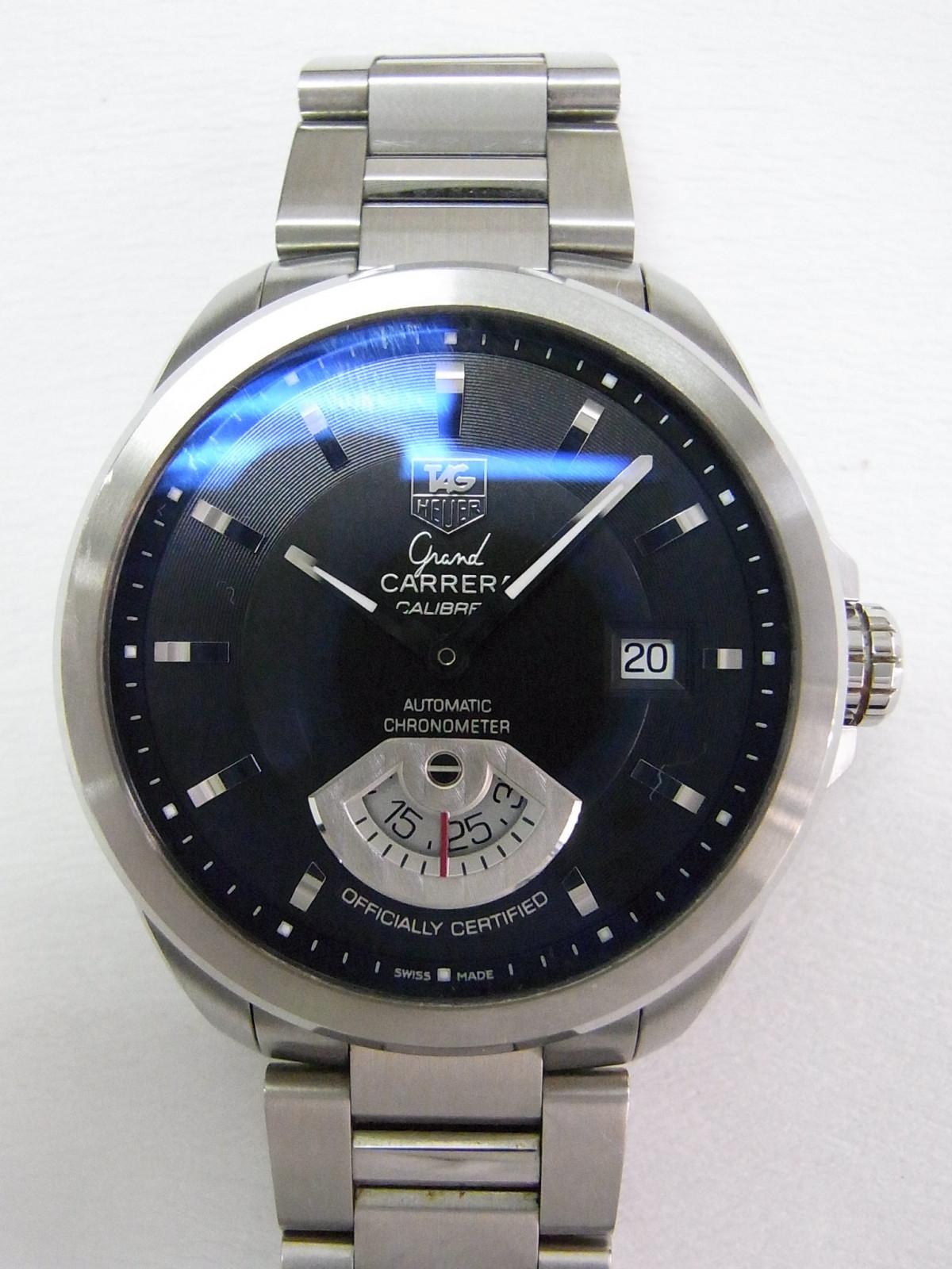 eee393050f4 Relojes Tag Heuer Grand carrera calibre WAV511B.BA0900 de segunda ...