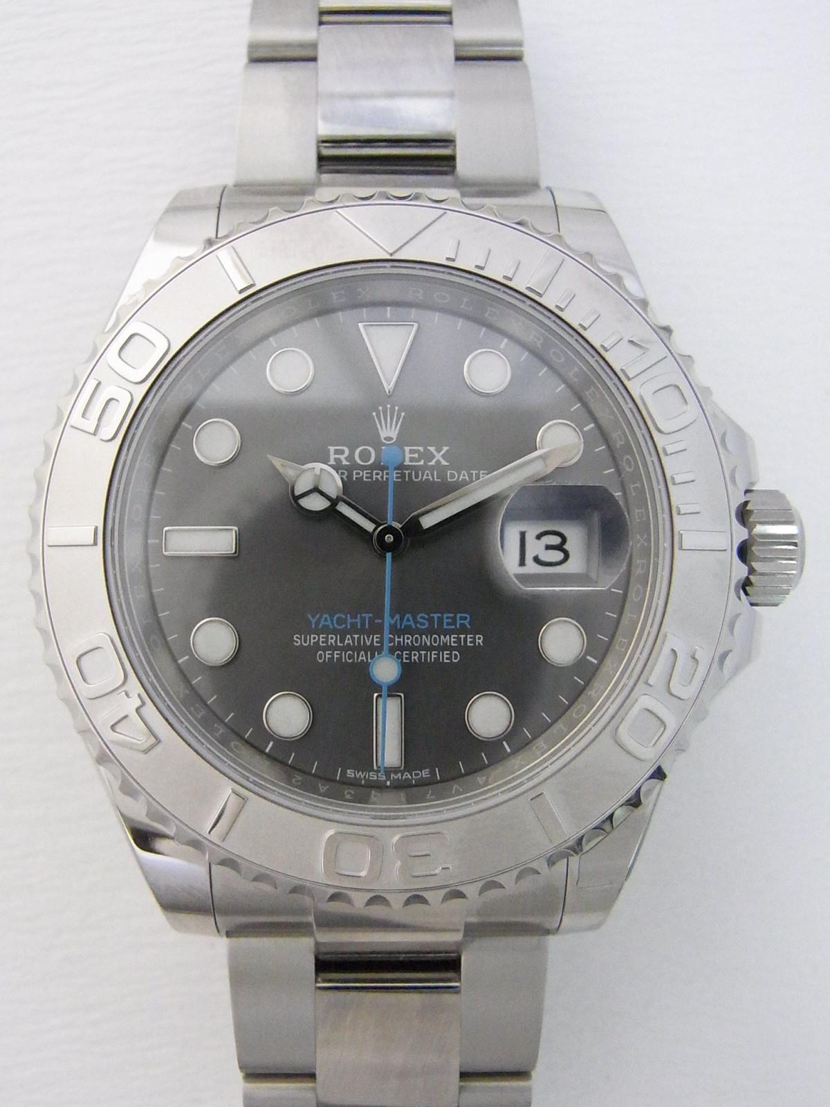 22fda6d67cb Rolex Yacht master relógio usados (€20