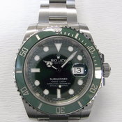 Rolex Submariner Date Green Ref.116610LV DS35****