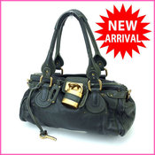 Chloe Shoulder bag One  Paddington green leather (for music tomorrow) Good Condition Popular A 613