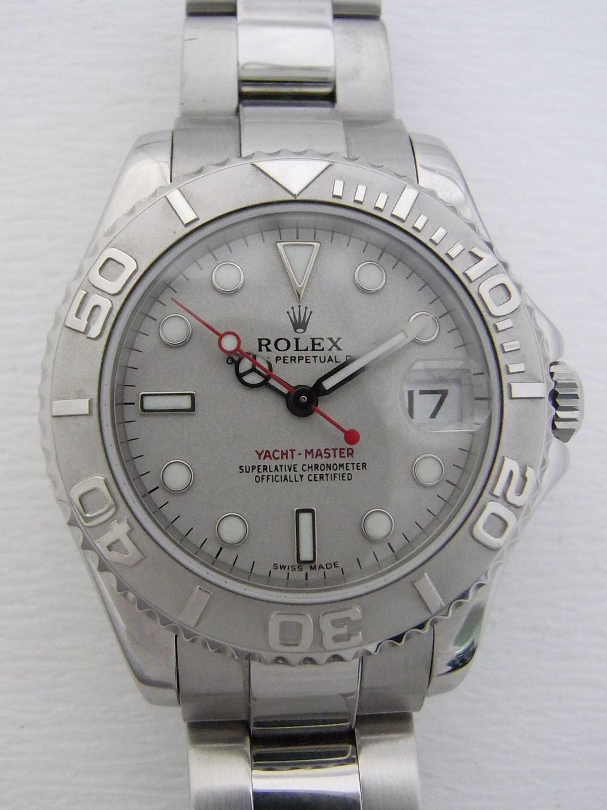 dabbd9e2f3c Rolex Yacht master 168622 relógio usados (€1