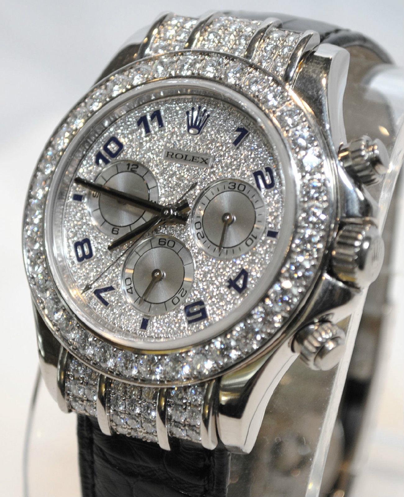 comprare on line 5550b 6454b Usato Rolex Rolex Daytona Uomo - 18K oro bianco - 8Ct - 300 ...