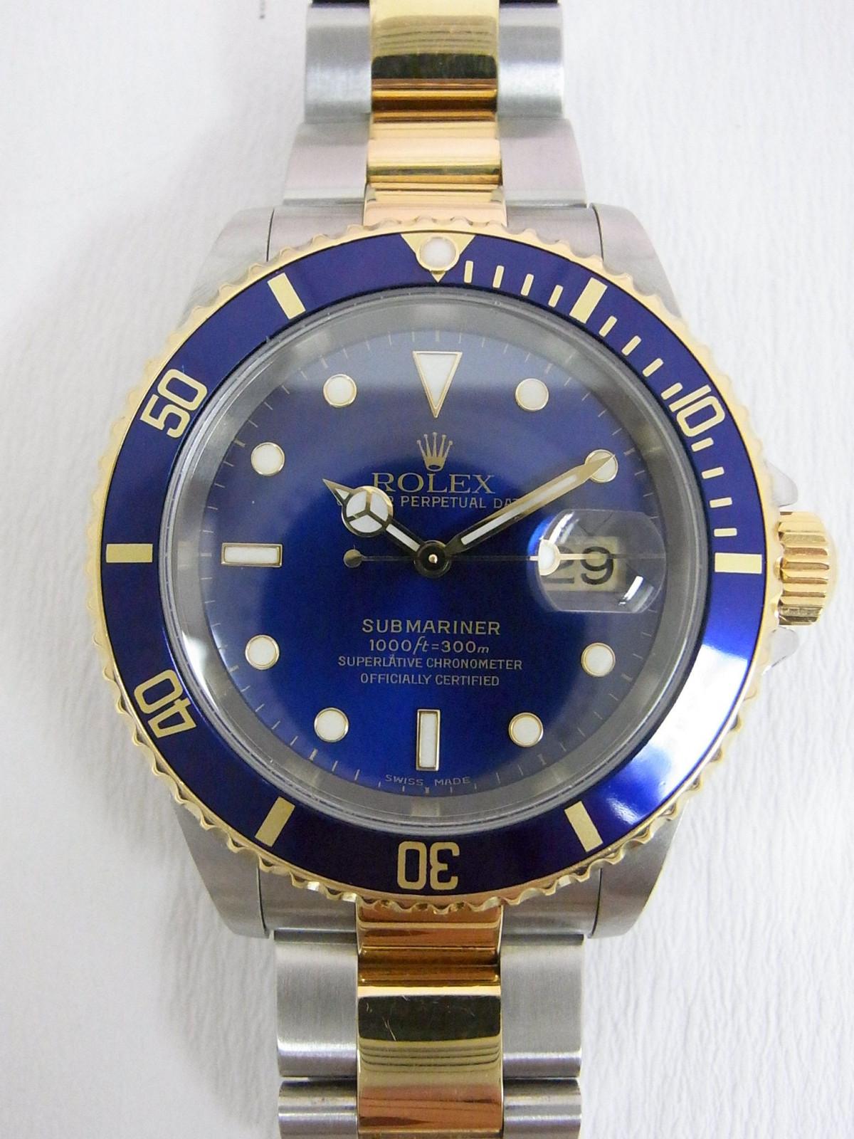 8eb1e7a0868 Relojes Rolex Submariner 16613 de segunda mano (€3
