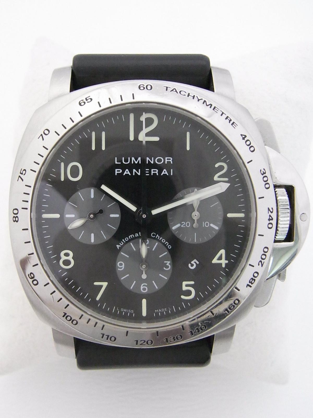 cc1173eca83 Panerai Luminor chrono PAM00162 relógio usados (€1