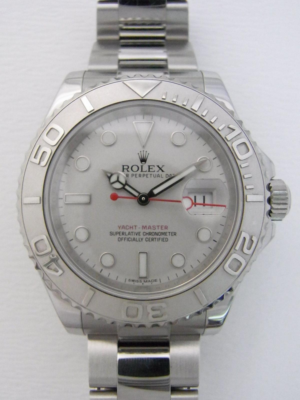49a1f7821ec Rolex Yacht master 116622 relógio usados (€3