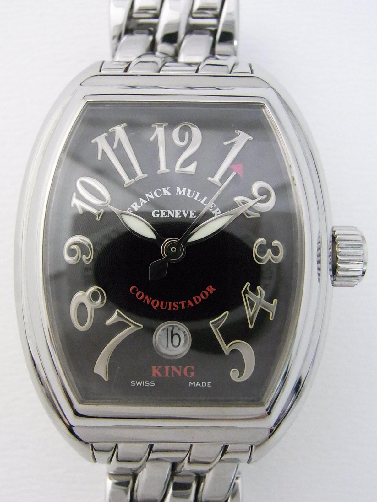 468106345f5 Franck Muller Conquistador 8002 SC KING relógio usados (€1