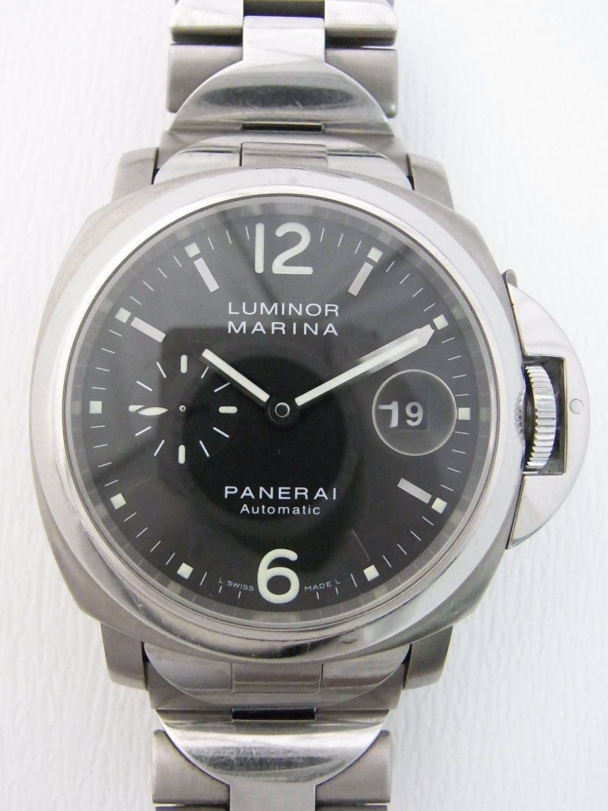 137fa31b2dd Panerai Luminor marina PAM00165 relógio usados (€946) - Timepeaks
