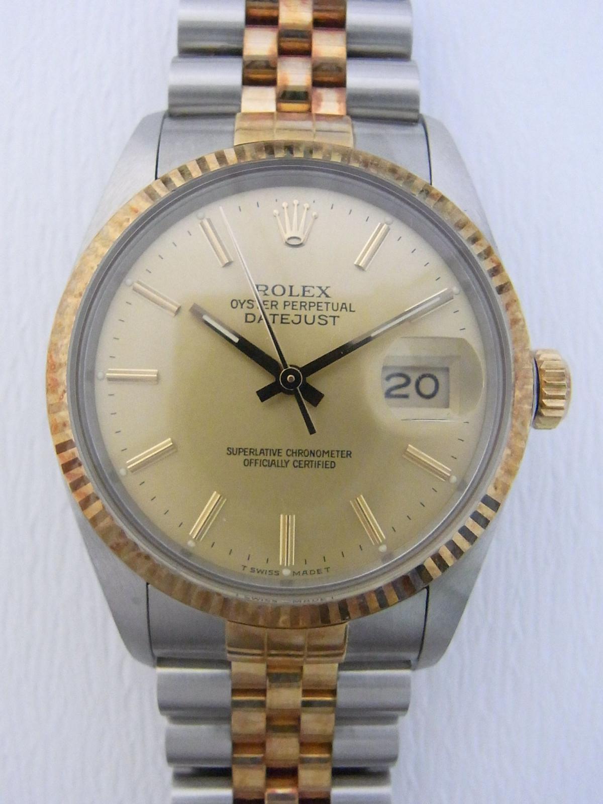 4e69d133864 Relojes Rolex Datejust 16013 de segunda mano (€1,132) - Timepeaks