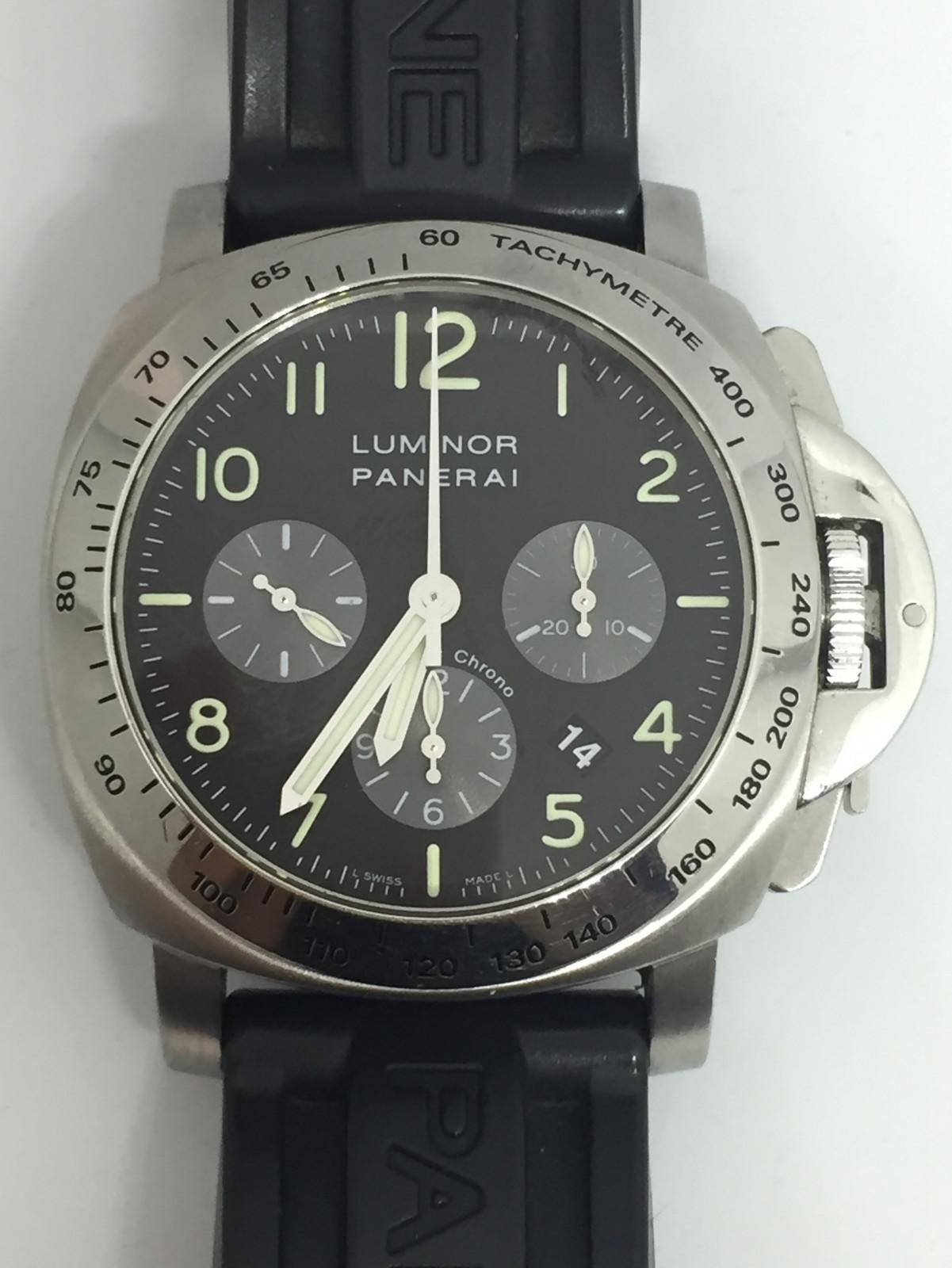 3e28d2ca846 Panerai Luminor chrono PAM00162 relógio usados (€4